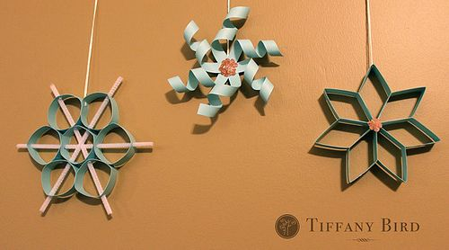 Love these Paper Snowflakes!
