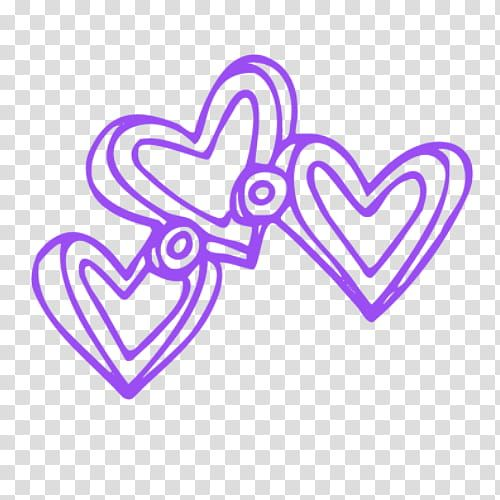 Recursos Para Psc Drawing Of Three Purple Hearts Transparent Background Png Clipart Transparent Background Clip Art Free Clip Art