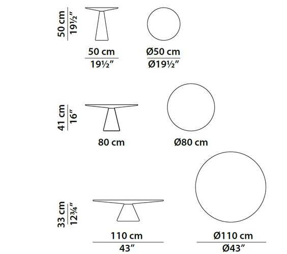 Dimensions Jove Round Coffee Table Coffee Table Measurements Coffee Table Dimensions Baxter Design