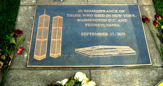 From Beaverton (Oregon) Veteran's Memorial Park - a tribute to the 9/11 victims