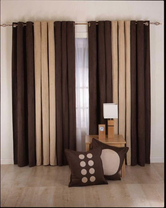 Curtain-Designs-for-Living-Room-brown-cream-color.jpg (950×1186 ...