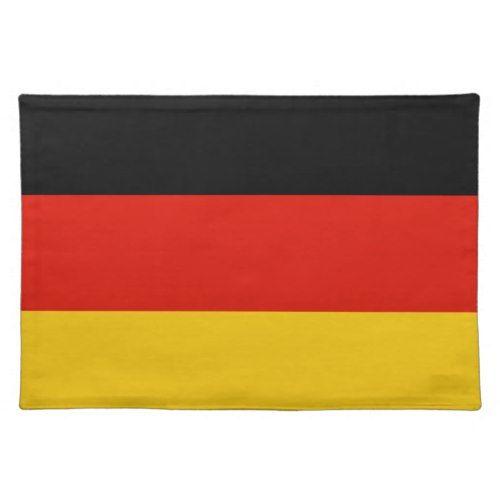 German Flag Placemat Germany Colors Zazzle Com Germany Flag German Flag Placemats