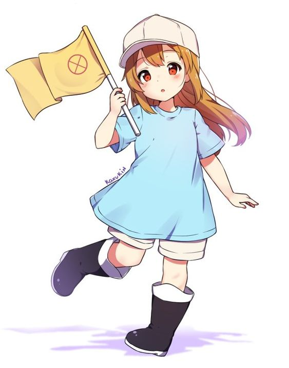 "@Cosmania 2018 on Twitter: ""Platelets are just so precious :'D #血小板 #はたらく細胞… """