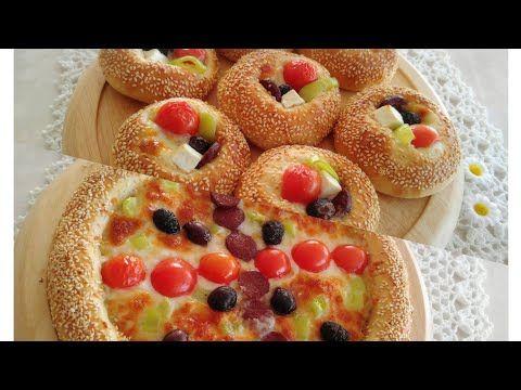 بيتزا وميني بيتزا السميت على الطريقة التركية بعجينة قطنية جد رائعة Youtube Food And Drink Recipes Food