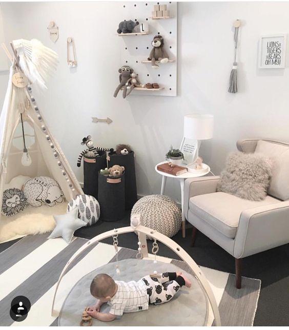 Neutral nursery ideas! Scandi