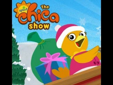 Chica Show Chica's Sled Game Cartoon Animation Sprout PBS Kids Game