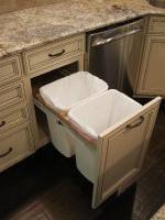 Pull Out Trash Storage Solutions | Kitchen Remodeling Atlanta | Kitchen Design | Platinum Kitchens & Design, Inc.
