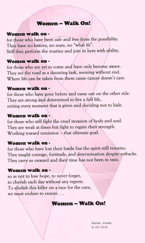 A poem tribute to Breast Cancer Patients, Survivors and Deceased.