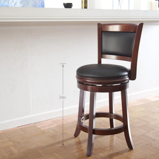 Boraam Augusta 24 In Swivel Counter Stool Swivel Counter Stools