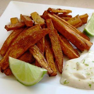 chili sweet potato fries