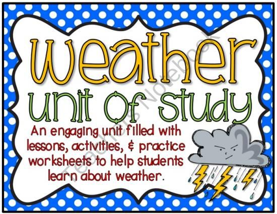 this weather unit of study includes 110 pages full of lesson ideas engaging activities and. Black Bedroom Furniture Sets. Home Design Ideas