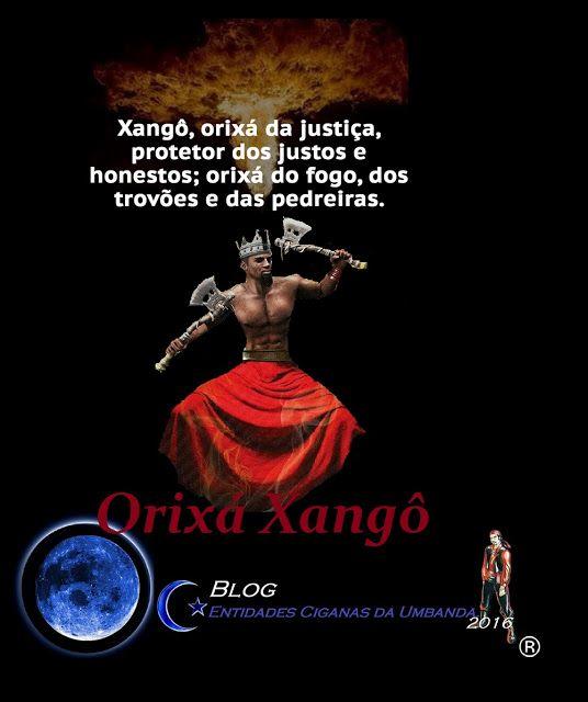 Entidades Ciganas da Umbanda (Clique Aqui) para entrar.: ORIXÁ XANGÔ ( ELEMENTAL DO FOGO)