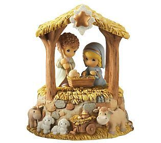 Precious Moments Holy Family Nativity Musical Figurine