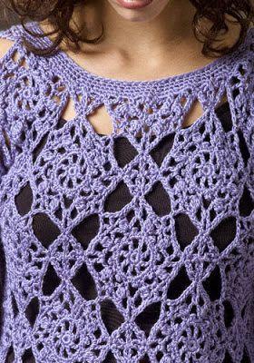 DE MIS MANOS TEJIDOS Y MAS...: Lindos modelos con pastillas a crochet
