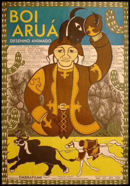 BOI ARUÁ: Brazil Poster, Cine Brazil