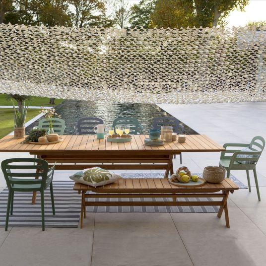 Les Nouveautes Jardin Chez La Redoute Et Am Pm Table De Jardin Outdoor Home Decor Ideas Wooden Table Table De Jardin Pliante Table De Jardin Banc Jardin