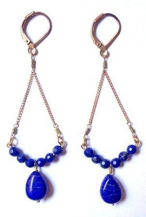 BO Lapis Lazuli via AMAbijoux. Click on the image to see more!