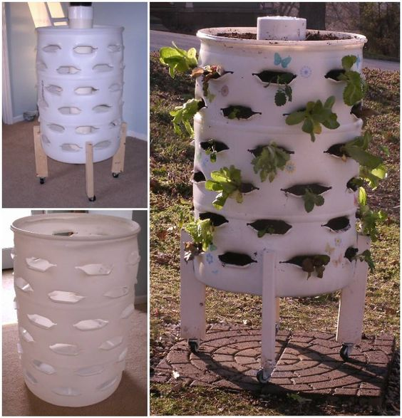 When Recycling Meets Gardening Here S How To Make A