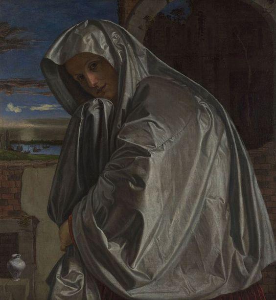 """Mary Magdalene"" by Giovanni Girolamo Savoldo (c.1535-40)"