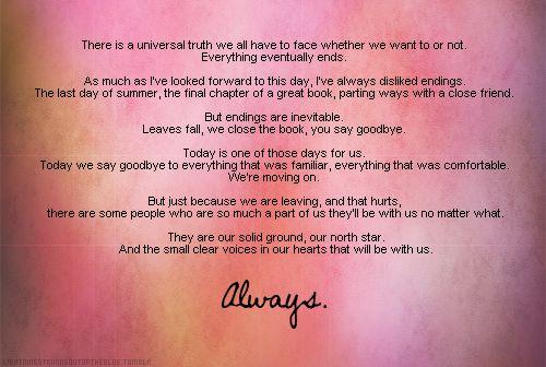 Alexis CastleS Graduation Speech From Always Castle  X