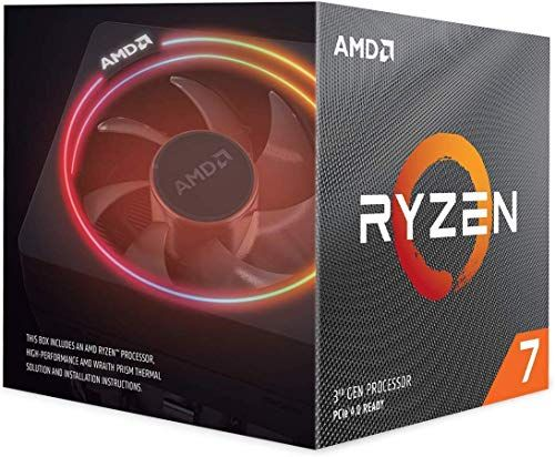 Amd Ryzen 7 3700x 8 Core 16 Thread Unlocked Desktop Processor With Wraith Prism Led Cooler Amd In 2020 Best Gaming Cpu Amd Computer Cpu