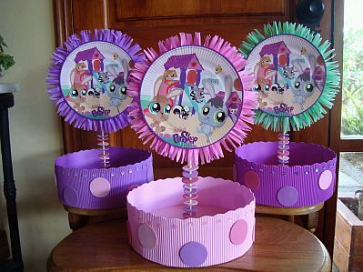 Pictures of littlest pet shops decoracion - Decoracion de mesas para eventos ...