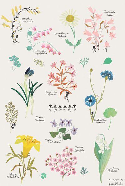 J'adore l'aspect des fleurs, la légèreté de la coloration, la clarté des traits #mode # québec