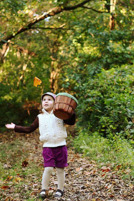 Child/Fall, Child Photography, ©Misty Exnicios