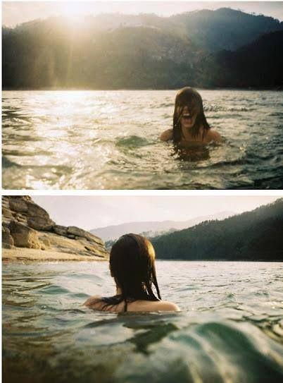Vou me jogar no mar. Esquecer problemas e recomeçar de onde não deveria ter parado: planos para ser feliz.