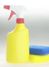 I am in heaven - I saw it on somebody else's pinterest, but can't remember who - i did the white vinegar and dawn dish soap to clean the shower tonight.  AMAZING!!!!!!!  I did one cup each.  Put it in a squirt bottle, shook it up - sprayed it on and let it sit for about an hour - came back and with a soft sponge, it wiped right off!!!!  LOVE LOVE LOVE