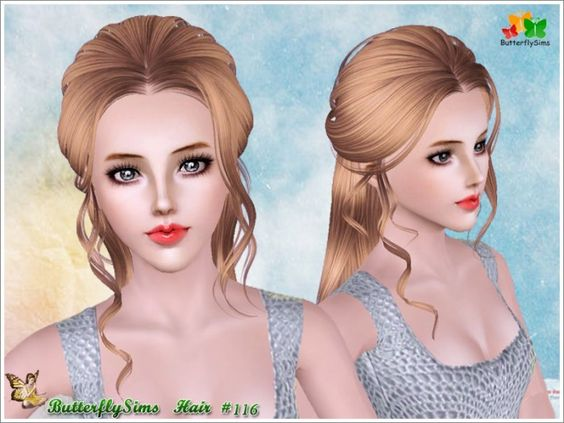 Hairstyles Braids Download: B-fly Back Braided Hair 116 By YOYO