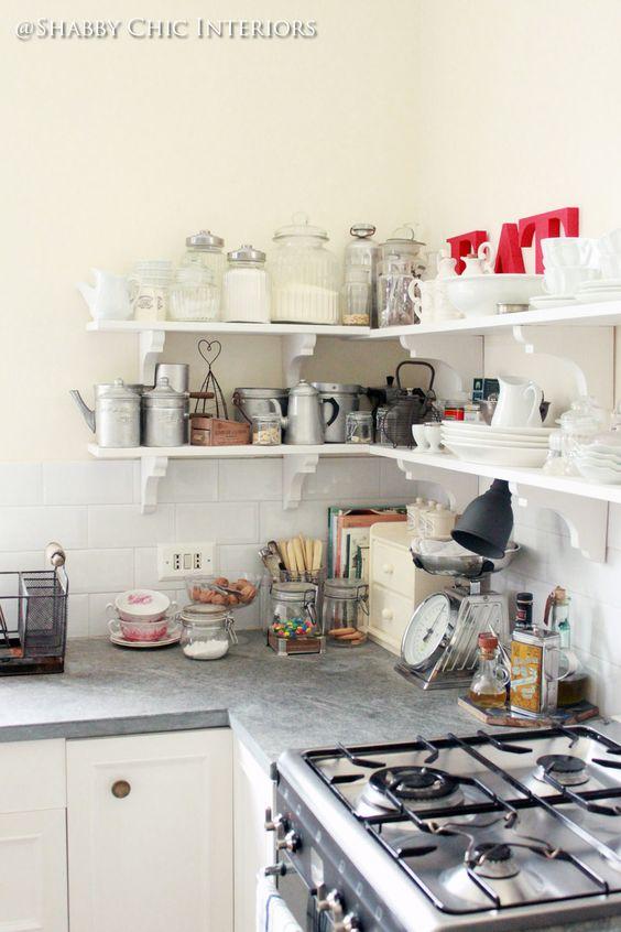Shabby Chic Interiors: Restyling di una cucina Ikea  my ...