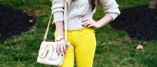 I need some yellow jeans. OBSESSED!