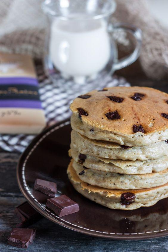 Pankies {les pancakes qui se prennent pour des cookies} #recette #végétal #vegan @ Zéro Miette