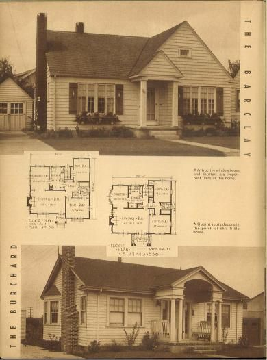 Attractive homes : 62 homes with plans.