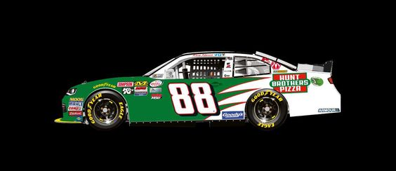 Paint Scheme Preview: Indianapolis and Eldora  -   Wednesday, July 20, 2016  -   Kevin Harvick will drive the No. 88 Hunt Brothers Pizza Chevrolet.