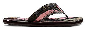 Maui Island® Camo available at SHOE DEPT. ENCORE! #sandals #spring #pink #camo #camosandals