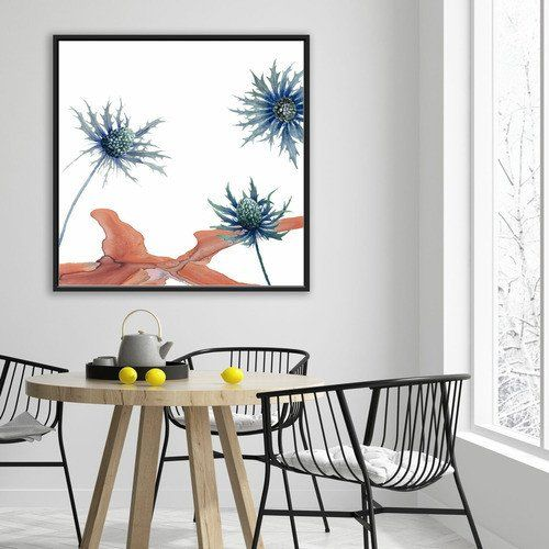 Wall Art Dining Room Awesome Wild Flower I Canvas Wall Art Dekorasi Dinding