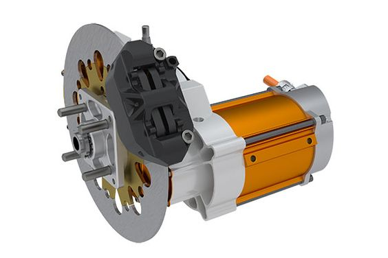 The Ecomove Inwheel Electric Power Train Is Powerful And