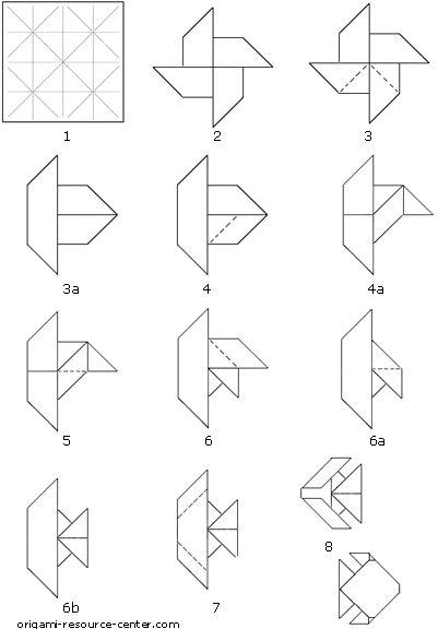 paper fish origami - Buscar con Google