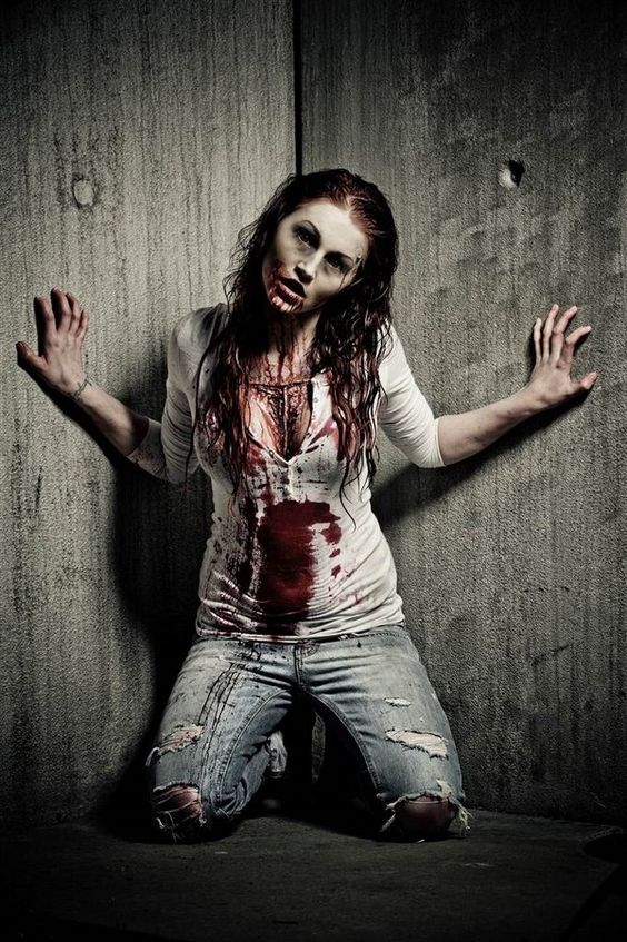 Horrible white pent with shirt Halloween Costumes ideas for Adults