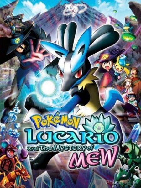 Phim Pokemon Movie 8: Mew và người hùng của ngọn sóng Lucario
