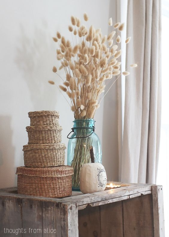 Thoughts from Alice: Vintage Bohemian Fall Decor Ideas:
