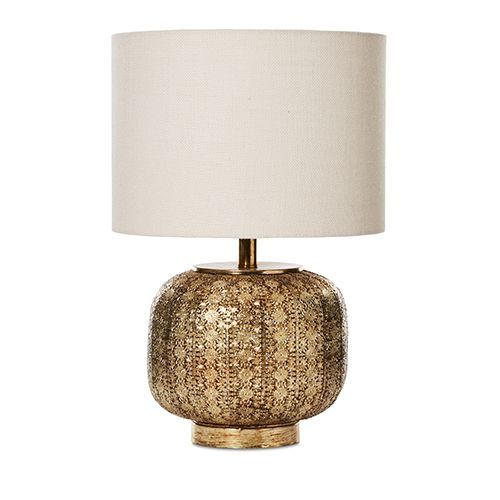 Boho Gold Tischlampe Gold Table Lamp Boho Table Lamps Table Lamp