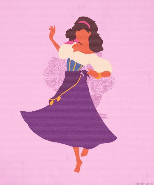 Esmeralda → The Hunchback of Notre Dame (1996)