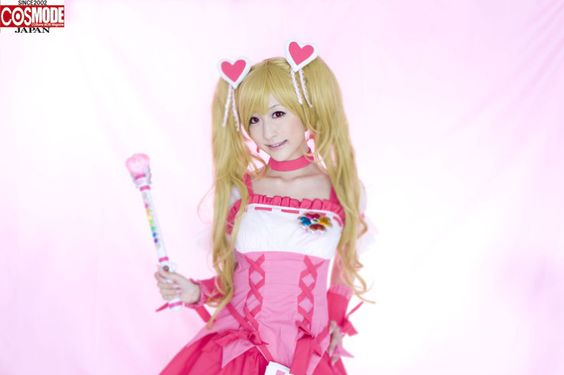 "「Cure Peach」 FROM Fresh PreCure #cosplay #cosplayer #anime #コスプレ ""COSMODE e-book"" is a collection of photos with hundreds of cool cosplay pictures like this. http://www.facebook.com/COSMODEJapan"