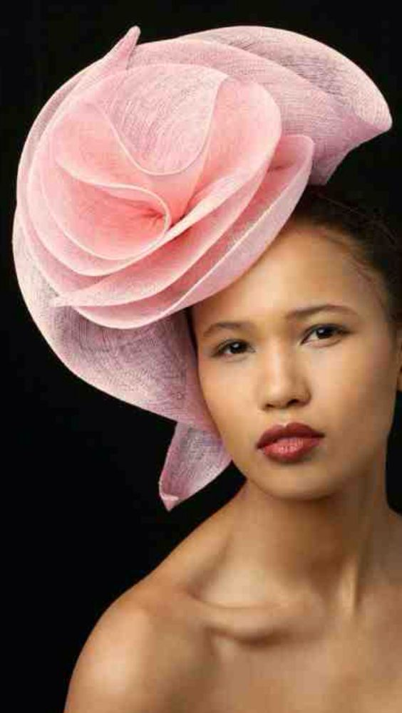 Lovely pink fascinator
