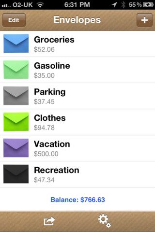 cash tracker app iphone