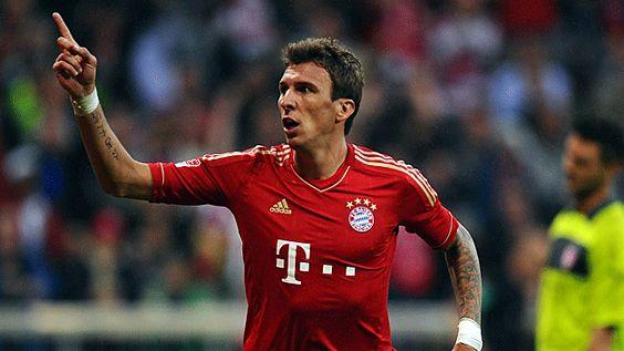 Mario Mandžukić  Bayern München