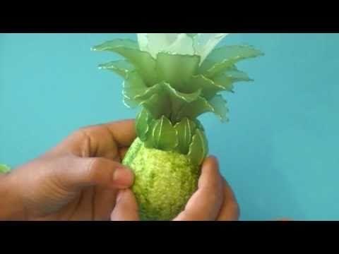 Fabrication d'une orchidée Cymbidium en collant / Nylon Cymbidium Orchid - YouTube
